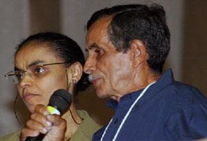 Ministra do Meio Ambiente Marina da Silva