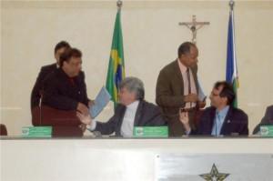 Secretários na Assembléia