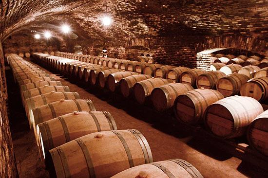 Adega da vinícola chilena Concha Y Toro, que fica próximo a Santiago