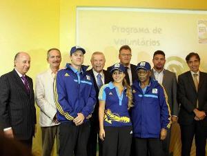 Programa Brasil Voluntário vai auxiliar turistas durante a Copa (crédito: Divulgação)