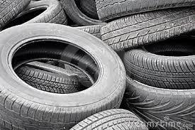 lugar de pneu velho é no ponto de coleta