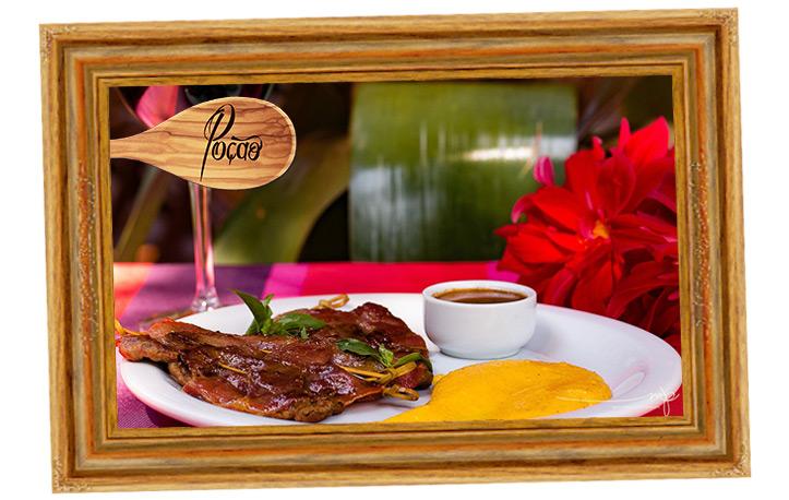 Saltimocca de Filé Mignon, do Restaurante Poção - Crédito Maria Paula Barreto
