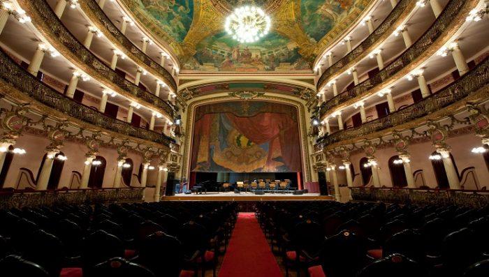 Interior do Teatro Amazonas. Crédito: Divulgação/Embratur