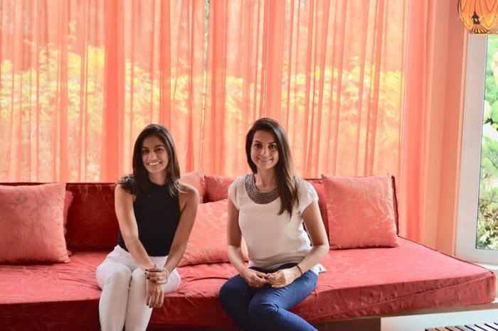 Andressa Griffante e Anelise Zanoni Foto de Laise Feijó